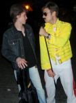 'Freddie' and Sasha at Deribasovskaya street right after the surprise LOML performance.