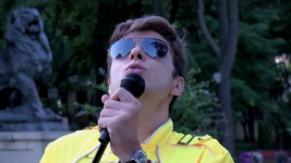 The unexpected performance of 'Love Of My Life' in Odessa City Garden