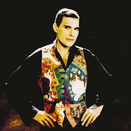 Freddie Mercury - the last official picture